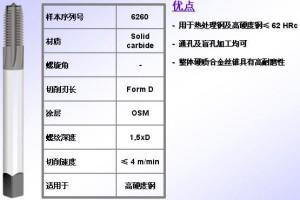 NORIS高硬度丝锥 TWIN HR HT